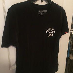 ad7bb582e8 Vans Shirts - 🔥1 day sale🔥Vans off the wall Black T-shirt
